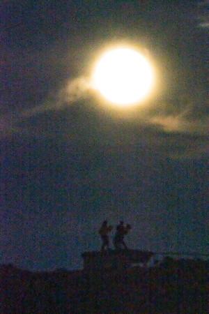 Moon Silhouette