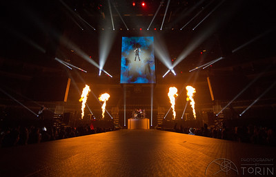 On February 16th, Skillet performed at PPG Arena in Pittsburgh as a part of Winter Jam 2018.