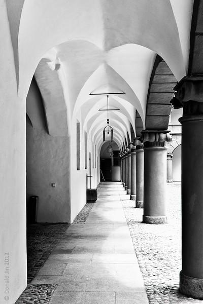 Munich Courtyard