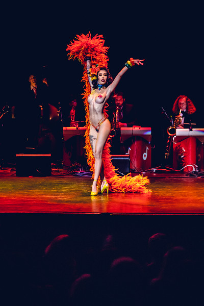 Raquel Reed - Queen of Burlesque Show - 9/22/2018