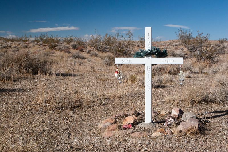 Rick Hunt, died December 1 2007 in the Mojave Desert near Randsburg.