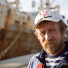Ukranian sailor, port of Huelva, Andalusia, southwestern Spain