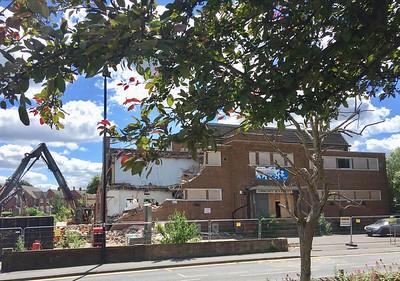 Demolition of Chapeltown Baths