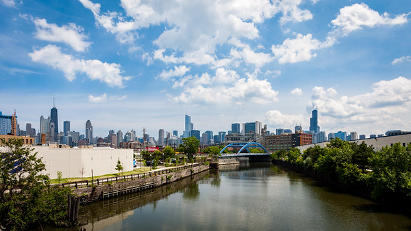 Chicago From the West