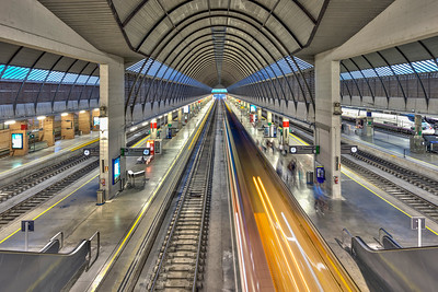 Santa Justa Railway Station, Seville, Spain