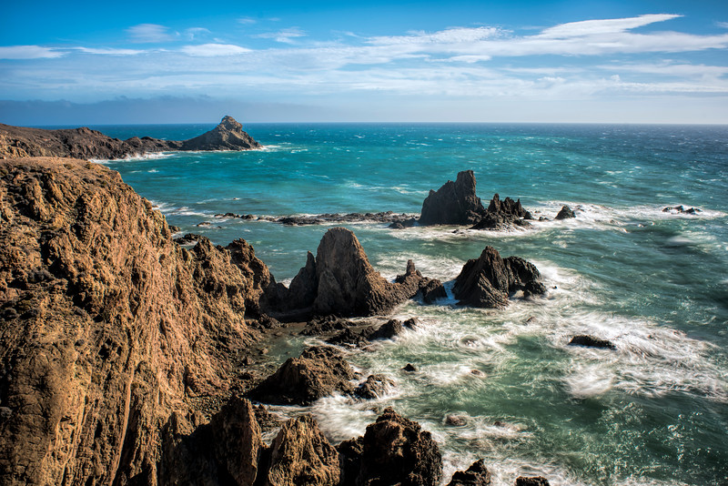 Arrecife de las Sirenas (Reef of Mermaids), Cabo de Gata, Almeria, Spain