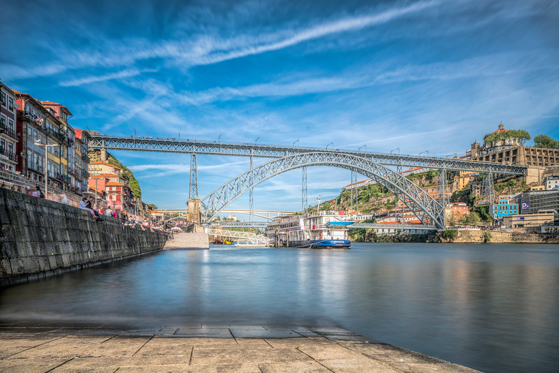 Dom Luis I Bridge, Porto, Portugal