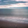 Atlantic Ocean, long exposure shot. Ayamonte, Spain