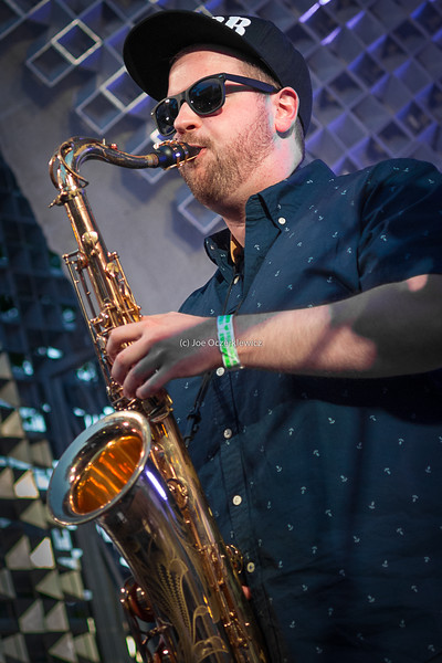 Kyle Wedlake<br /> TD Winnipeg International Jazz Festival<br /> The Cube, Old Market Square<br /> Winnipeg, Manitoba<br /> June, 2015