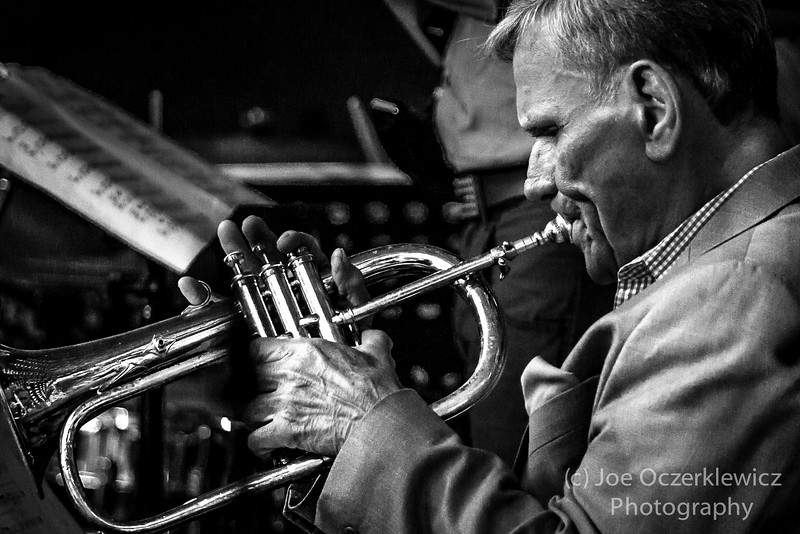 Frank Burke solos with  Ron Paley Big Band