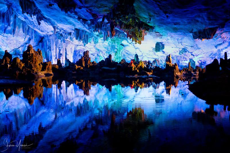 Stalactite and Stalagmite Cave, Guilin, China