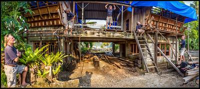 Mark's build   Sorake Beach Nias Indonesia