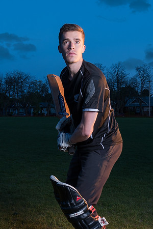 Cricketer's Portrait