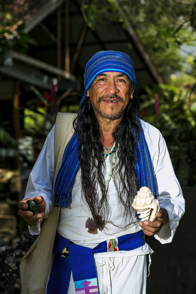 Mayan Shaman in Belize