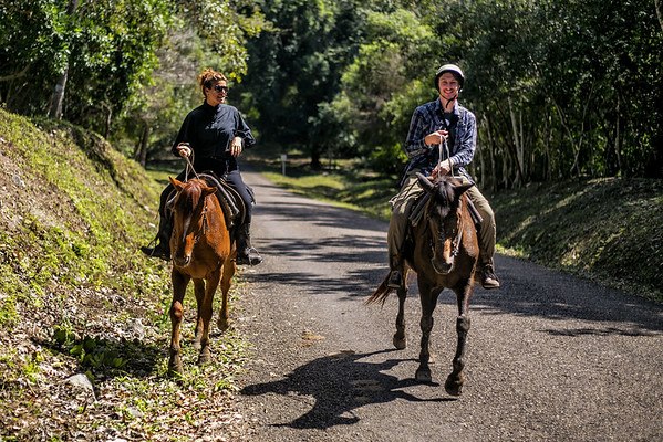 Horseback Riding to Xunantunich in Belize