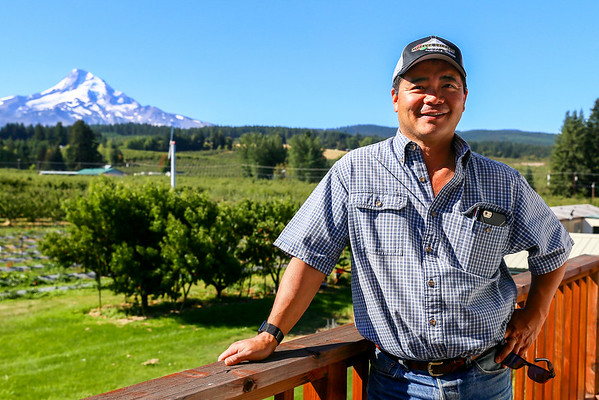 Kiyokawa Orchards in Mount Hood, OR