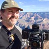 Selfie with my Fuji GX617 Panorama Film Camera