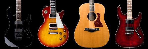 Wall of Guitars
