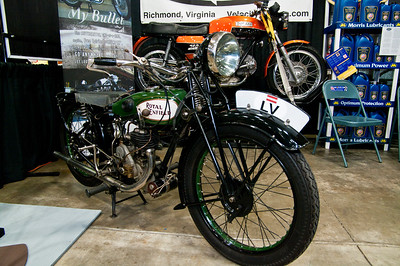 Progressive International Motorcycle Show-1927 Royal Enfield from Velocity Cycles in Richmond, Va.