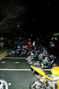 Bike Night at Quaker Steak, Richmond, Va.
