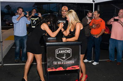CAMACHO TORCH IT UP EVENT AT CIGAR REALM