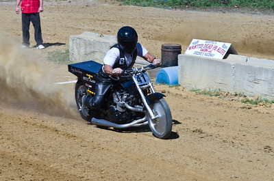 Dirt Drag Racing at Green's Raceway