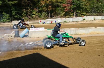Dirt Drags at Greens Raceway