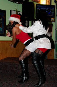 Quaker Steak & Lube Sexy Santa 2012