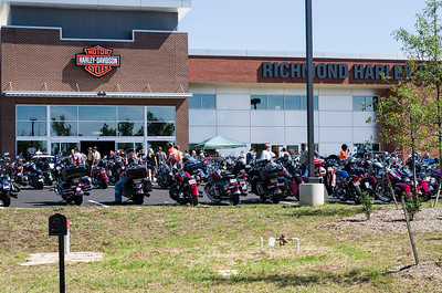 Richmond Harley Davidson Grand Opening 2014