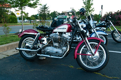 Bike Night at Quaker Steak & Lube in Richmond, Va.