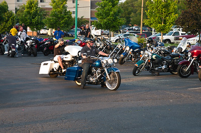 Quaker Steak & lube Bike Night Richmond, Va