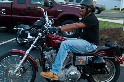 Bike Night at Quaker Steak & Lube, Richmond, Va.