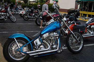 Bike Night Richmond QS&L Best Paint, Best Custom Show