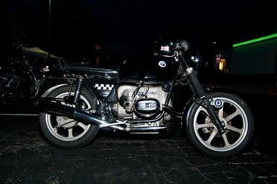 Bike Night at Quaker Steak & Lube in Richmond, Va.