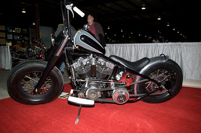 1st Place Old School Bobber Early Drivetrain: #6019A John Bubs / 1975 HD FLH