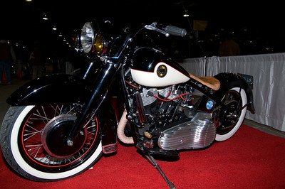 1st Place Nostalgic Custom: #6021 Tim Sneed / 1966 Shovelhead