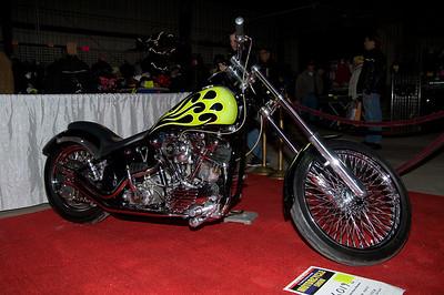 1st Place Nostalgic Chopper: #6019B Rick Sicca / 1947 HD FL