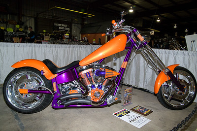 1st Place Limited Production Chopper: #6003 Travis Groulx / 2003 American Iron Horse
