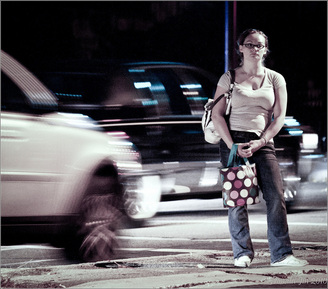 "Day 83: It's The Picture Quality<br /> Jay Maisel, one of the great street photographers out of Brooklyn, when asked why he routinely shoots at ISO 1600, he replied ""I'm worried about picture quality, not pixel quality.""   Shooting at such high ISO, he doesn't worry about motion blur, just the composition.  Though he probably owns many expensive lenses, his walk-around lens is the modest Nikkor 70-300.  He never puts on a filter of any kind, no lens hood and his lens cap is always off so he is ready to capture a fleeting image in an instant.  Oh, and he is never, I mean never, without his camera."