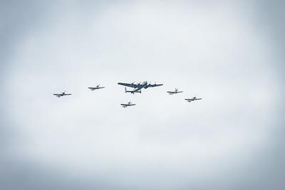 Lancaster Spitfire Hurricane