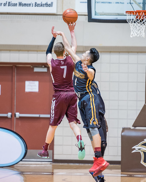 MHSAA Boys Semi Final Game 2<br /> Manitoba Provincial AAAA Championship<br /> Varsity High School Basketball<br /> University of Manitoba<br /> Winnipeg, Manitoba<br /> March 17, 2017