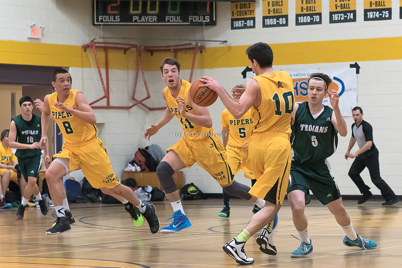 John Taylor Pipers vs Vincent Massey Trojans