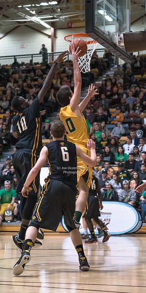 Semi Finals<br /> Manitoba Provincial AAAA Championship<br /> Varsity Boys High School Basketball<br /> University of Manitoba<br /> March, 2016