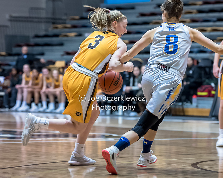 University of Manitoba Bisons vs University of Lethbridge Prongs