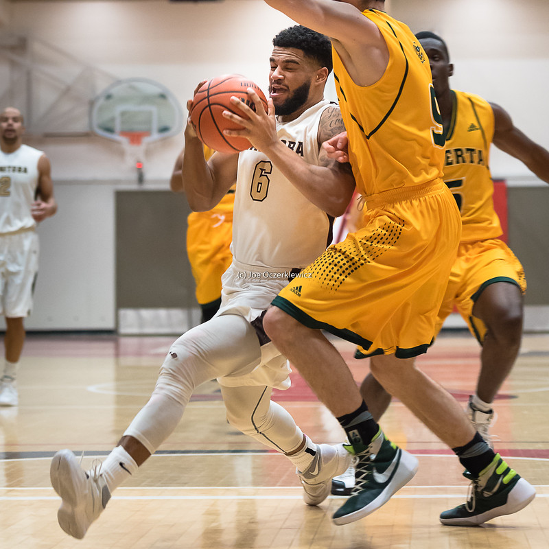 University of Manitoba Bisons vs University of Alberta Golden Bears