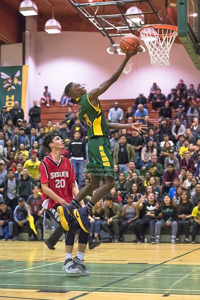 Tec Voc Hornets vs Sisler Spartans