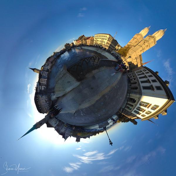 ציריך שוויץ העיר העתיקה צילום כוכב