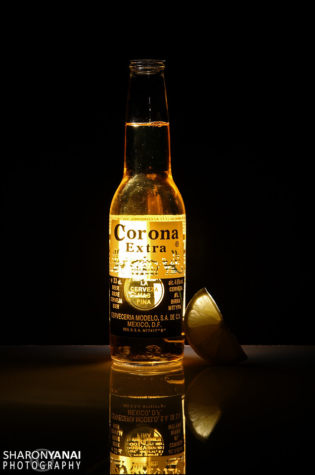 Corona Bottle special lighted
