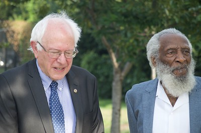 Senator Bernie Sanders and Activist Dick Gregory