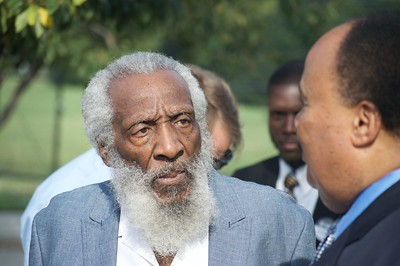 "Dick Gregory - A true ""Stone of Hope"". He fought for, and loved, Black people, but his message was for all human beings."